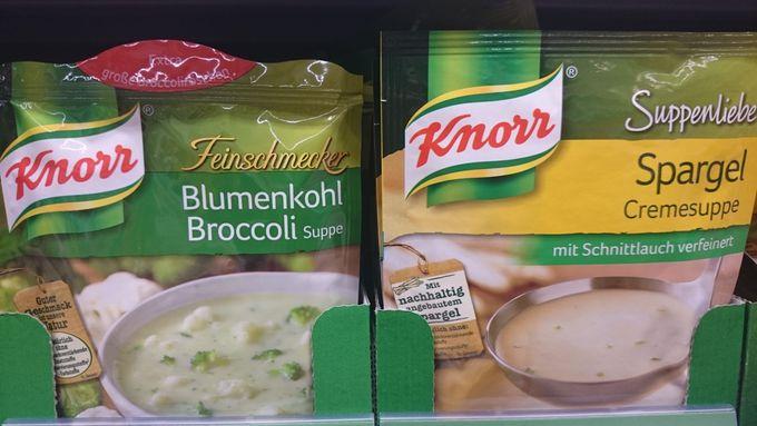 4.ドイツならでは!「クノール」のキノコやシュパーゲル味のスープ