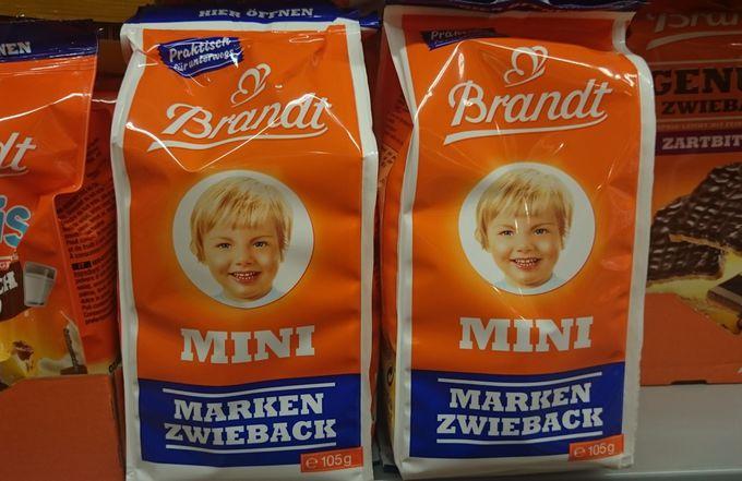 2.老舗メーカー「ブラント/Brandt」の「ツヴィーバック」は素朴な味
