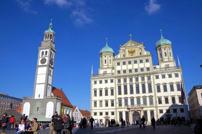 ドイツの重要な歴史あるルネッサンス建築