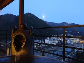 「今宵天空に遊ぶ」は伊達じゃない!下呂の温泉街を一望 「しょうげつ」|岐阜県|トラベルjp<たびねす>