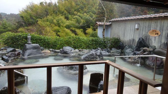 これはお得、関連施設の温泉の湯巡りが無料