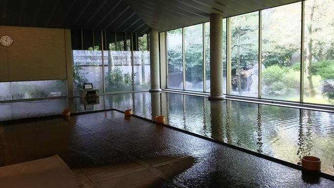 「瀧の湯」はホテル花水木宿泊者専用の温泉施設