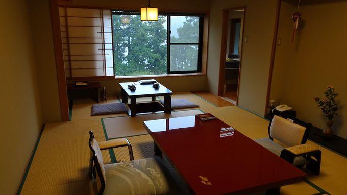 部屋に「華」が名付けられた和室は全6室