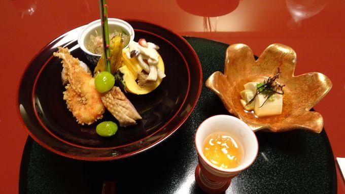 月替わりの懐石料理は箱根でも評判の美味しさ