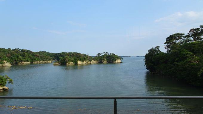 ここでしか味わえない静かな松島