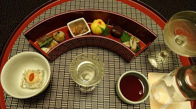 夕食は食前酒からデザートまで「選べる愉しみ」を提供