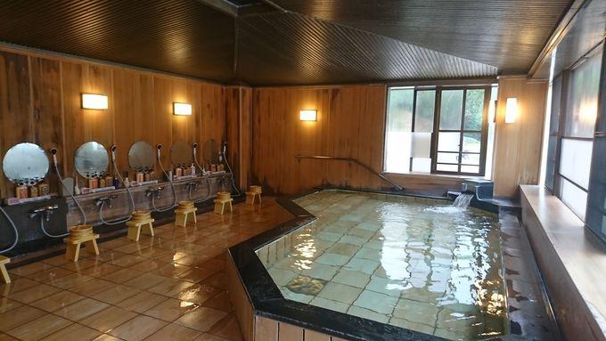 歴史ある温泉は美肌効果もある美人の湯