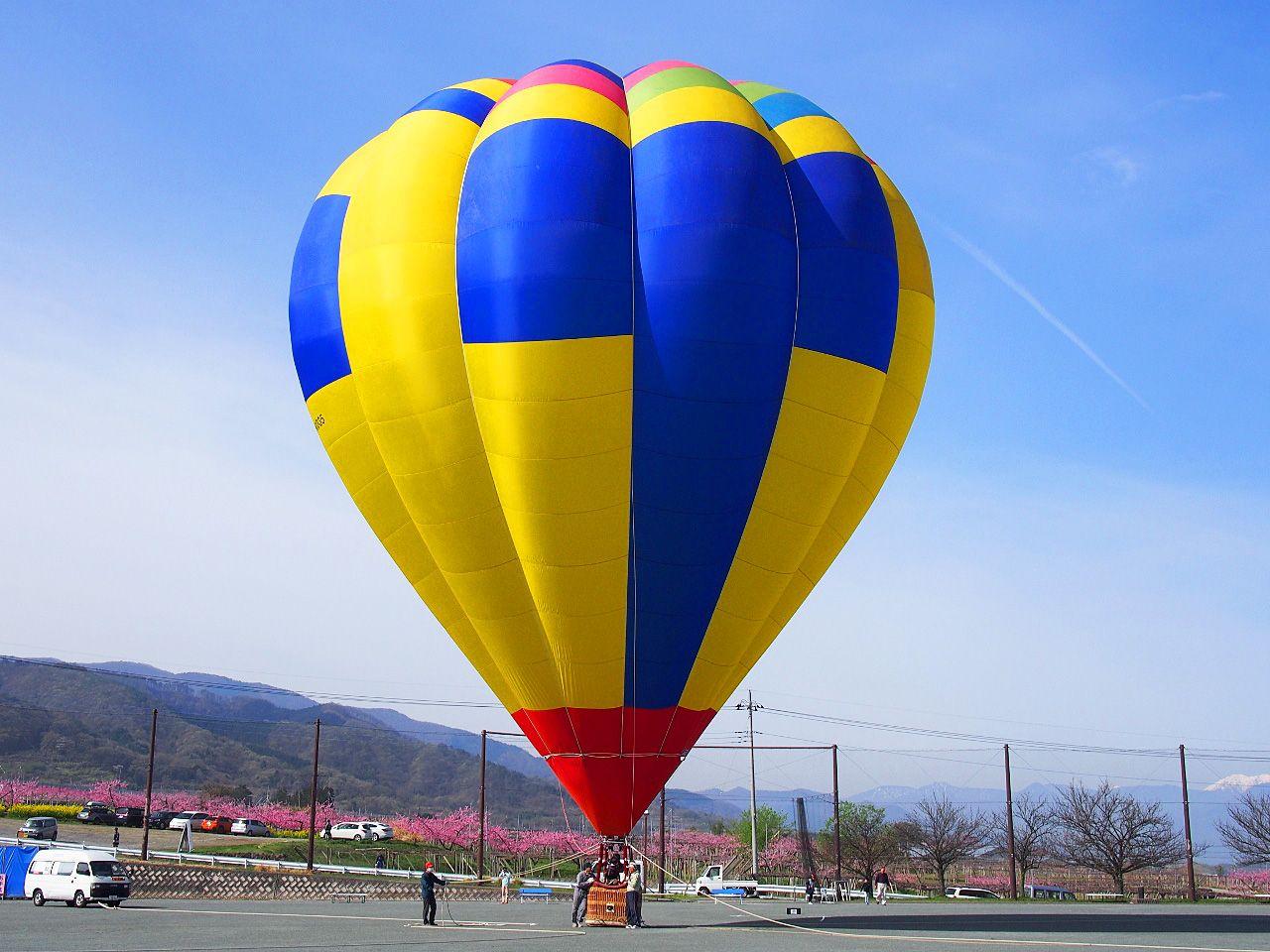 桃源郷を上空から眺める空中散歩を楽しもう!