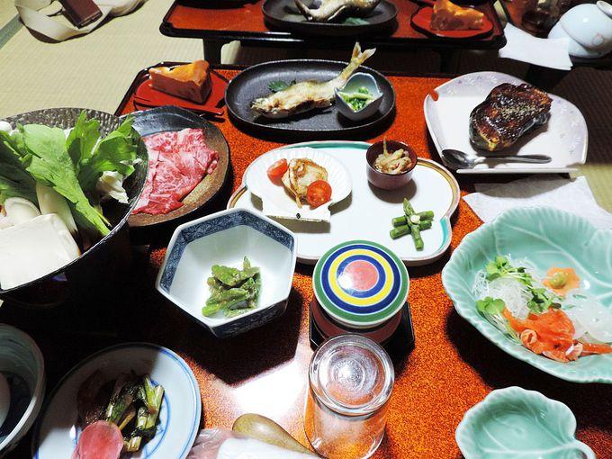温泉と長野の自然豊かな旬の食材を味わう宿「いかり屋」旅館
