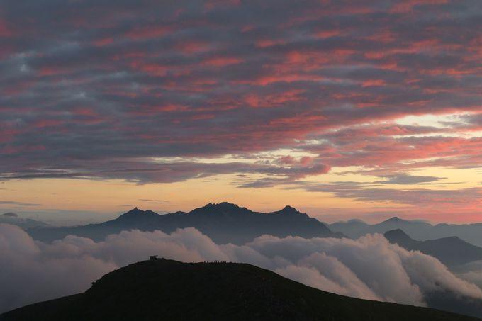 穂高連峰の景色が特に印象的!