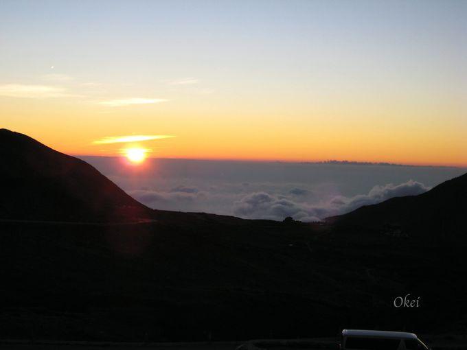 心に刻む風景「雲海と夕陽」