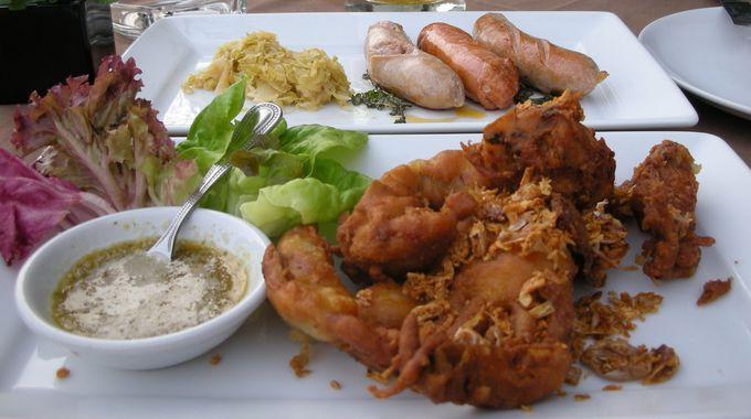 タイに来たら絶対に食べておきたいソフトシェルクラブのフライが絶品!