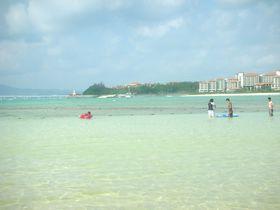 きれいなプライベートビーチが超便利!オキナワマリオットリゾート&スパ