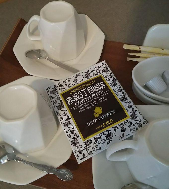 これって高級ホテルのサービス!ドリップ式コーヒーでほっと一息