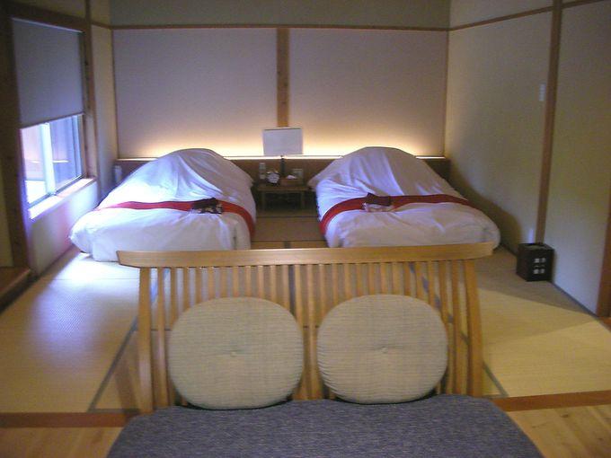 シンプルなデザインが好印象!寝室とリビングに分かれたスイートルーム
