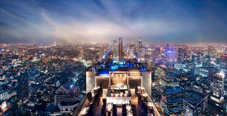 元祖タイのルーフトップバー!バンヤンツリーバンコク最上階「ヴァーティゴ&ムーン・バー」