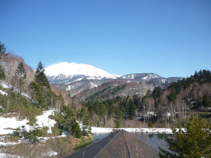 ダイナミックな乗鞍岳の眺めに感激!
