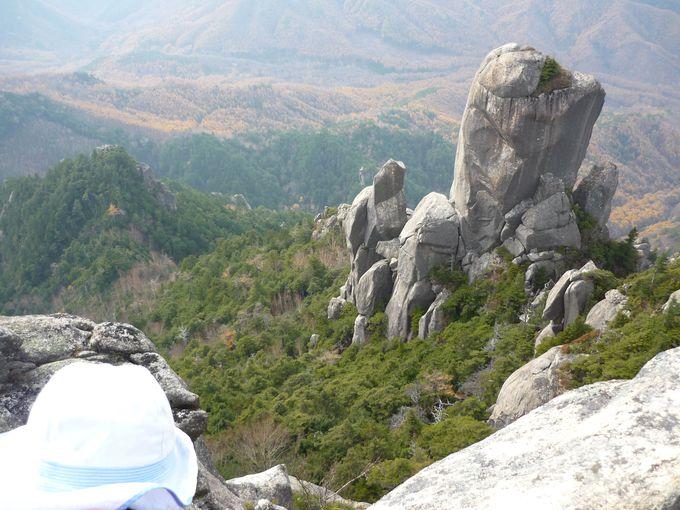 山頂はパノラマの絶景
