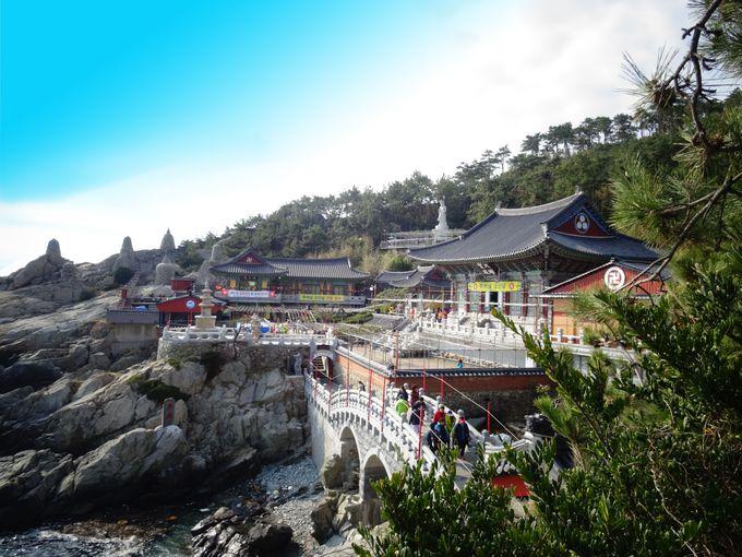 釜山市街からプチリゾート気分ででかけよう。