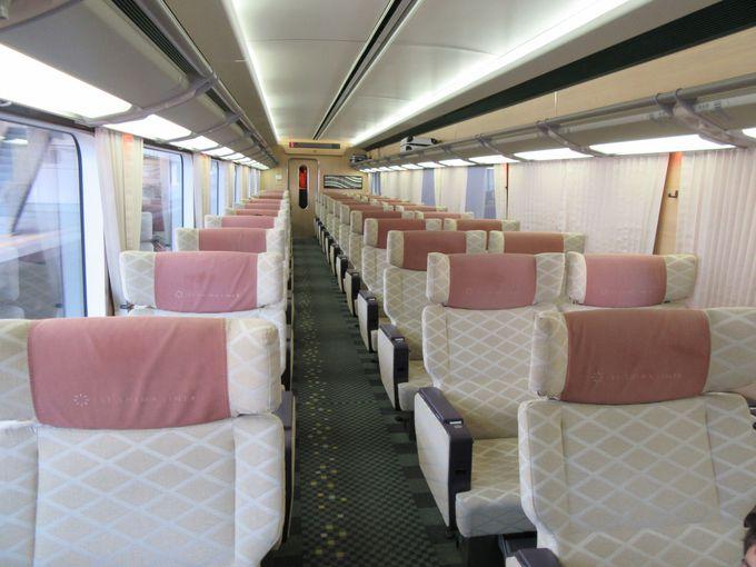伊勢志摩ライナーのデラックスシートはラグジュアリー感満点の大人空間