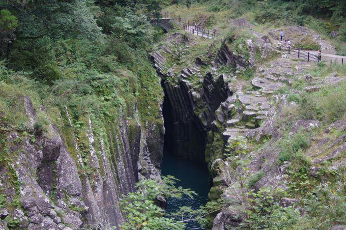 高千穂峡の絶景