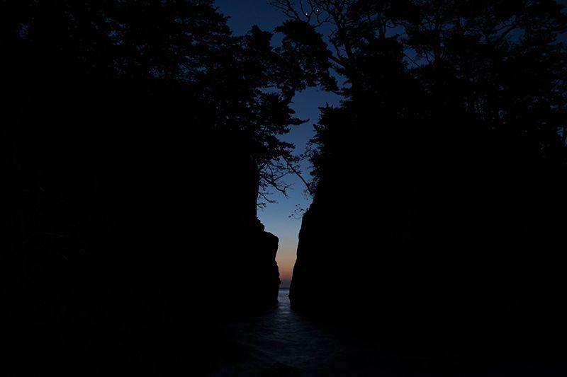 日の出前の時間も素晴らしい