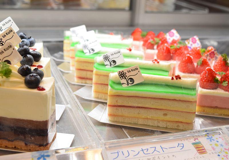 爽やかな味わいの「お姫様のケーキ」