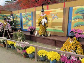 紅葉とのコラボで美しさ倍増!福島「二本松の菊人形」は日本最大級の菊の祭典|福島県|トラベルjp<たびねす>