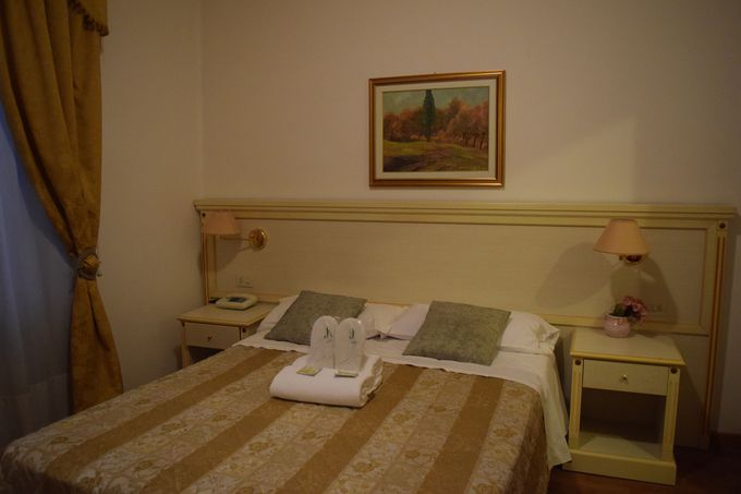 オルヴィエートに泊まるはら「ホテル・コルソ」