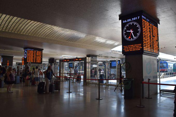 便利で快適になったテルミニ駅