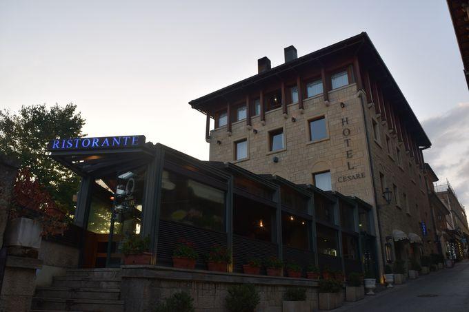 サンマリノに泊まるなら「ホテル・チェザーレ」