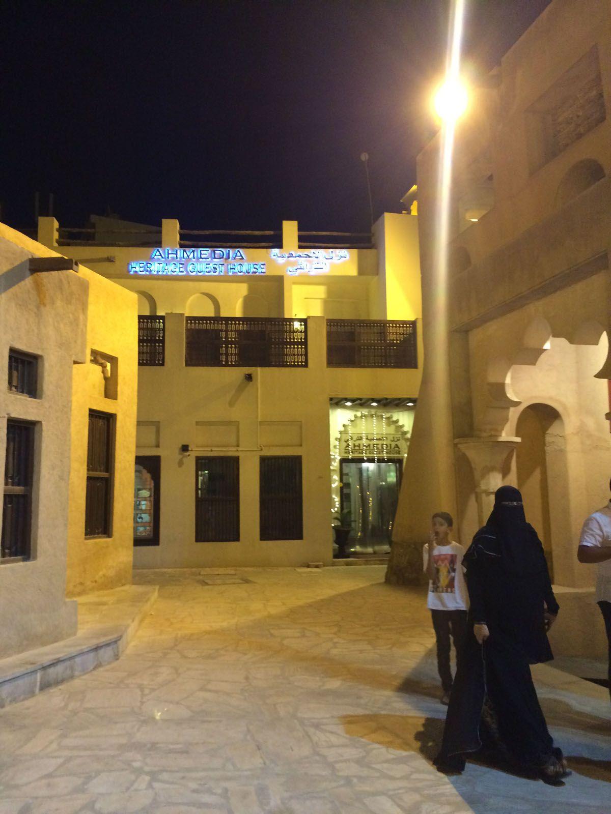 ドバイの歴史を感じる旧市街