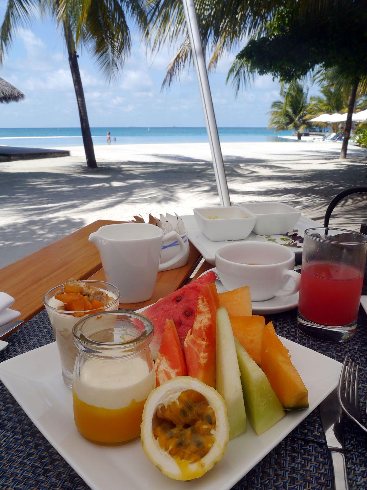 ヴェラサルモルディブのグルメと最高の朝食