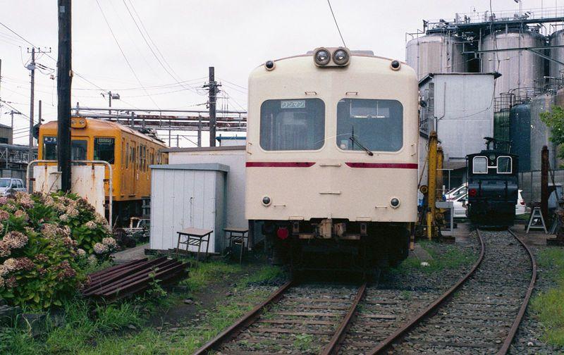 今となっては希少価値の高いローカル線の雰囲気!! 銚子電気鉄道