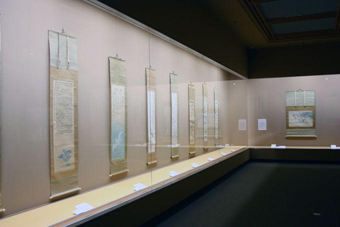見所其の弐。三渓記念館に収蔵されている美術品
