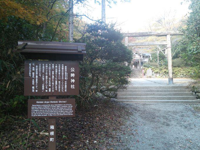 公時神社のお参りからスタート