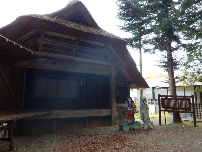 江戸時代から村人で受け継がれる伝統芸能「檜枝岐歌舞伎」