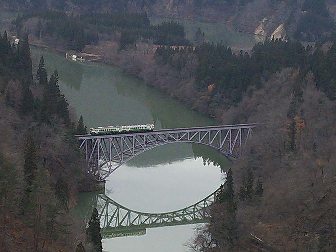 道の駅みしま宿 第一只見川橋梁ビューポイント