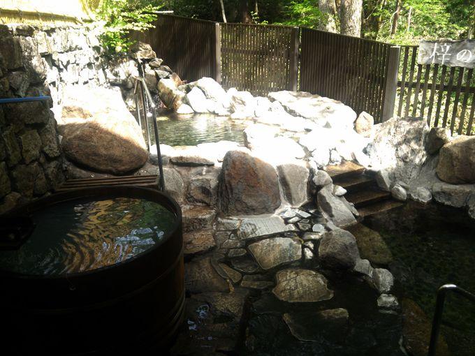 早朝の立ち寄り湯可能な上高地温泉ホテルで天然温泉