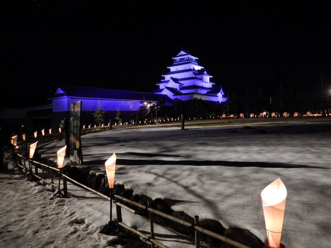 寒い冬に幻想的な灯火!会津の伝統工芸を堪能「絵ろうそくまつり」