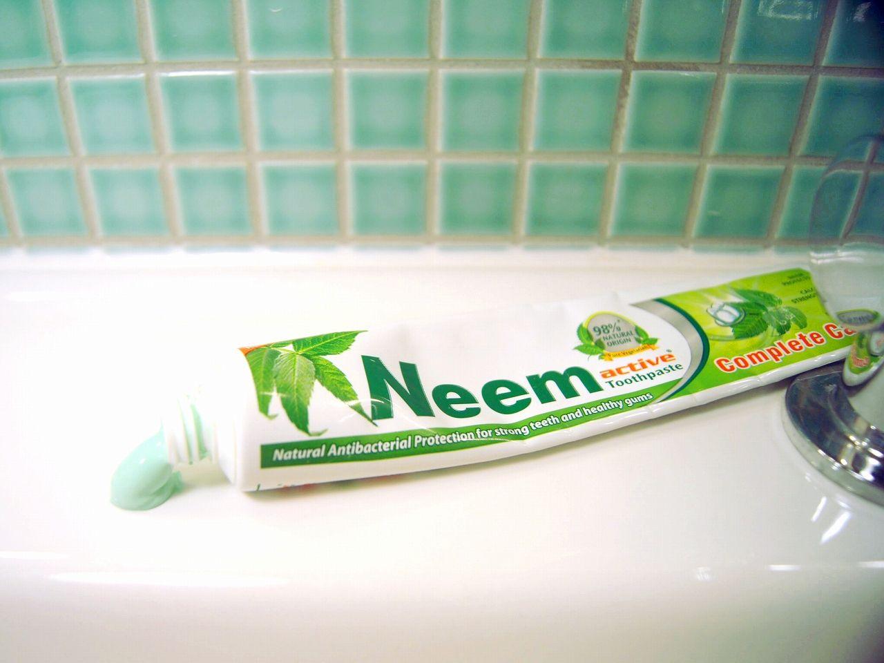 ニームの歯磨き粉