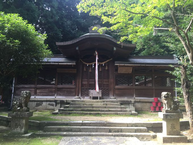 「朱智神社」は京都・八坂神社へ移された牛頭天王が祀られた隠れたパワースポットです。