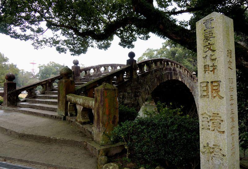 眼鏡橋がある長崎県「諫早公園」!国指定天然記念物と歴史を堪能しよう