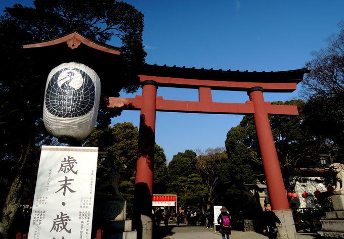 平塚八幡宮は歴代天皇の国土安穏への願いが込められた神社