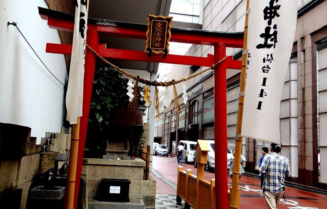 仙台随一の商店街に佇むパワースポット!「金蛇水神社」の一番町分霊社へ行こう