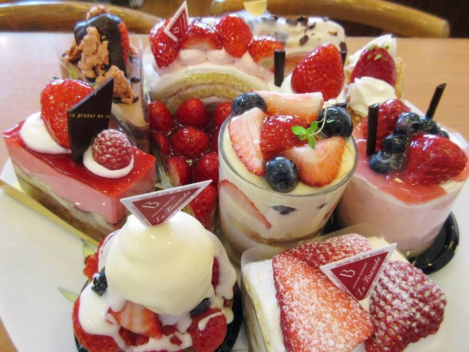 ラ・ブランジュのケーキは季節限定と定番の2種類!