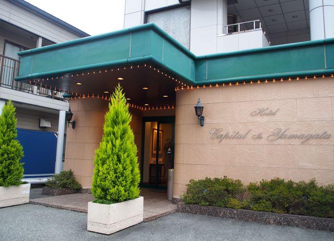 山形駅東口の繁華街を散策しながらホテルへ!