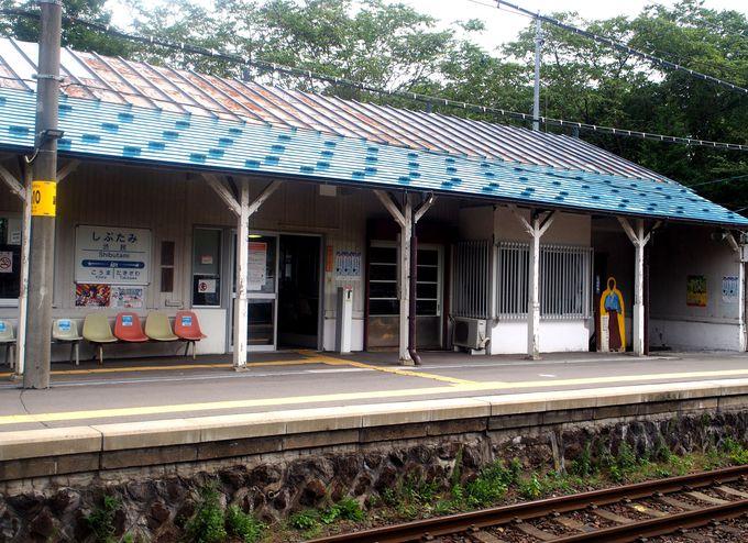 木造駅舎から石川啄木ゆかりの地へ!渋民駅