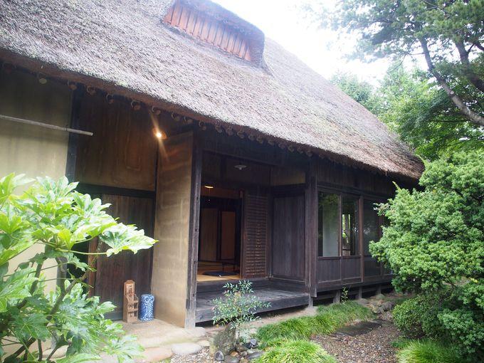 雑貨屋&カフェがある「旧坂本家侍住宅」