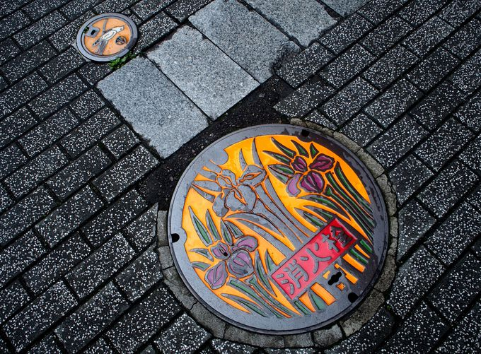 目指せ全種コンプリート!福島県郡山市「仕切弁&消火栓」マンホール蓋